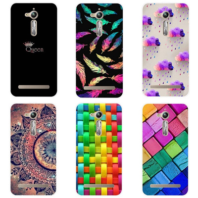 online retailer cc4e5 329b1 For ASUS Zenfone GO ZB500KG Cases 5.0 inch TPU Soft Silicone Phone Case