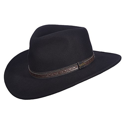 41923cf5 Qoo10 - (Scala) Scala Men s Crushable Wool Outback Hat : Fashion ...