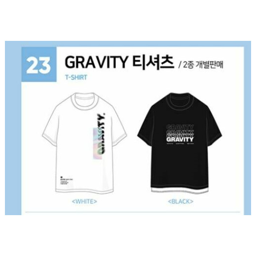 ACEFAST INC DAY6 Gravity Shirt Jae Sung Jin WonPil The Book of Us World Tour Concert Tee Shirt