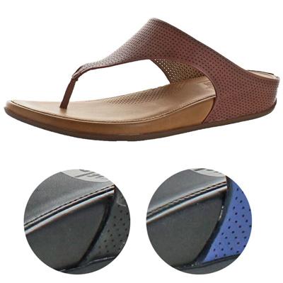 6a327ee8fcda Qoo10 - Fit Flops FitFlop Banda Perf Womens Leather Toning Thong ...