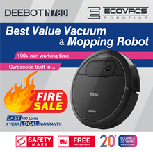 Ecovacs Deebot N78 Robot Vacuum Cleaner+Dry/Wet Mop+Time Scheduling+Automatic