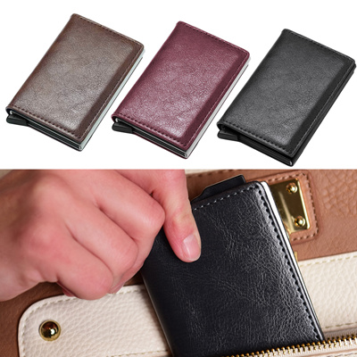 GzxtLTX PU Leater Bifold Wallet Credit Card Holder Money Clip for Men
