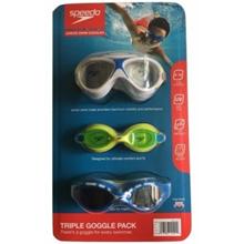 Speedo Junior Goggle 3-pack