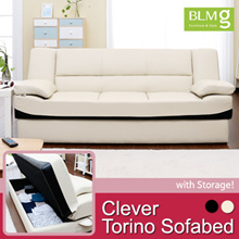 180cm~197cm Clever Torino Sofabed/Sofa/Storage/Furniture/Chair/Gift/Living