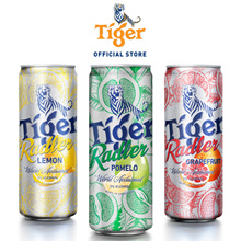 Tiger Beer Radler x 48 Cans.3 Flavours Pomelo(NEW)/Grapefruit/Lemon.Free Dry bag!