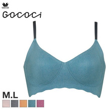 Wacoal Gococi CGG241 Wireless Half Top Bra (M-L)(40CGG241)