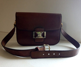 Vintage Celine Paris Box Handbag sac box mythique CELINE PARIS 1970