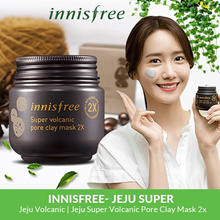 2018 NEW [INNISFREE] Super Volcanic Pore Clay Mask 2X - 100ml