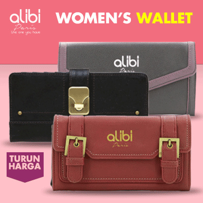 [Clearance SALE] Alibi Paris Deals for only Rp49.900 instead of Rp49.900