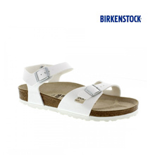★BIRKENSTOCK★ RIO. White Sandlas 100% AUTHENTIC