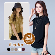 Fast Delivery  Korean  Women Fashion / Cotton / loose / Resonable Price  T-shirt
