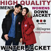 2018 Women winter down jacket men winter jacket 80% duck feathers down Real  fur -45degre
