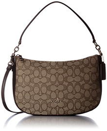 [Shipping from USA]Coach COACH Womens Chelsea Crossbody LI/Khaki/Brown Cross Body