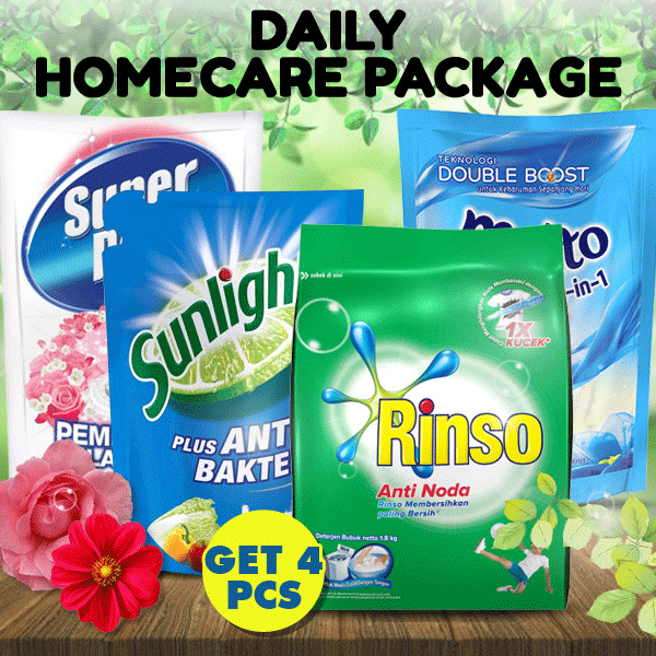 4 Pcs Paket Clean Deals for only Rp150.000 instead of Rp150.000