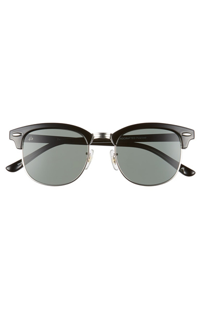 fc04ffe36d PRIVE REVAUX Prive Revaux The Chairman 50mm Polarized Browline Sunglasses