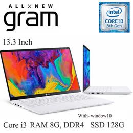 LG All New gram 13ZD980-GX30K-10 Core i3-8130U SSD 128g Graphics UHD620  RAM 8G DDR4 new