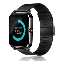 Bluetooth Smart Watch GSM SIM Phone Stainless Steel Band Fitness Tracker Sleep Monitor For IOS Andro