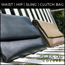 Best Buy! Travel Pouch Hip Bag Waist Pouch Clutch Sling Bag Multi-Purpose Bag