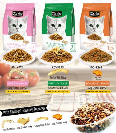 Kit Cat Premium Diet Dry Food (6 Premium Flavours - 1.2 Kg Each): 6 sold: Rating: 4: Free~: S$39.90 S$15.90