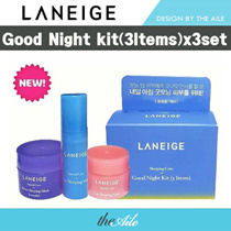 Laneige Sample Kit_Goodnight (3 Items)/3 sets/ Free shipping