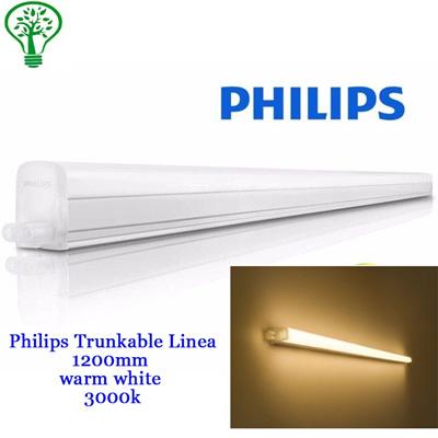 5pcs Philips 31091 Trunkable Linea LED batten wall light/cove light  1200mm/3000K warm white(12W/1000