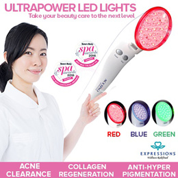 *Super Deal* UltraPower LED Light Device FREE 2 Caviar Essence Ampoules (5ml) | Hydration