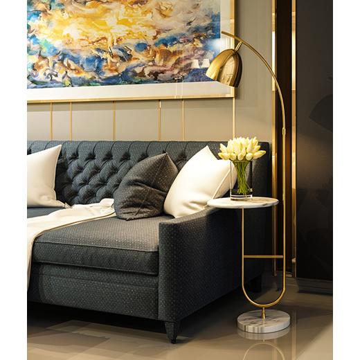 Qoo10 Nordic Floor To Ceiling Living Room Bedroom Modern Minimalist Sofa Bed Furniture Deco
