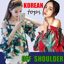 Korean dresses/Off Shoulder Tops Blouse/Knitted T-shirts skirt/Sling shirt/Strapless/Cheapest