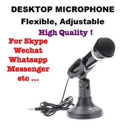 Desktop Microphone for Laptop PC Computer Notebook to make Internet Calls Skype WhatsApp Wechat etc