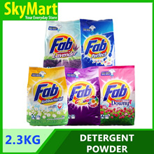 Fab Detergent Powder 2.1kg / 2.3kg (Perfect / Lavender / Anti Bacterial / Downy / Colour)