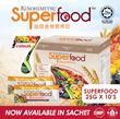Kinohimitsu Superfood 25g x 10 SACHET [22 Multigrains Cereal Drink OVER 60000 SOLD!]