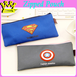 SUPERHERO B6 Zipped Pouch File Pencil Case STATIONERY GOODIE BAG CHRISTMAS CHILDREN DAY TEACHERS DAY