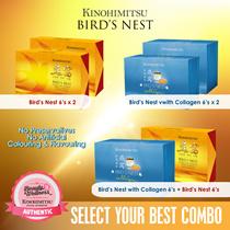 【BIRDS NEST COMBO】 BUY 1 FREE1 Kinohimitsu Birds Nest 6s / Birds Nest with Collagen 6s