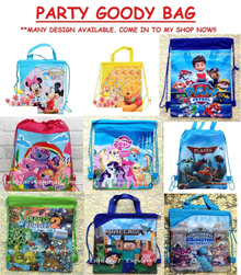 SMALL STRING BAG - MICKEY MINNIE★MINECRAFT★MY LITTLE PONY★PAW PATROL★PLANES★POOH