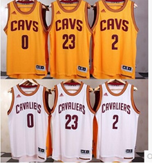 NBA Cleveland Cavaliers jersey Lebron James Carey Iving Kevin love