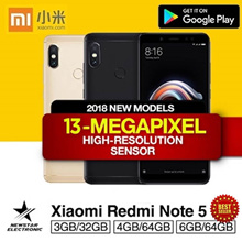 Xiaomi Redmi Note 5 High Edition 6GB/64GB * 4GB/64GB * 3GB/32GB | With Google Playstore |Export