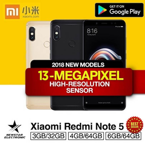 Xiaomi Redmi Note 5 High Edition 6GB/64GB Deals for only S$309 instead of S$0