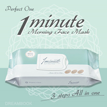 ★Queen Taiwan★ Perfect One 1 minute Morning Face Mask 32 sheets! Direct from Japan
