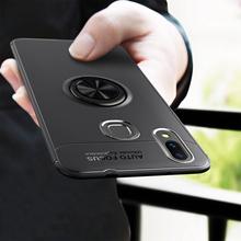 Magnetic Bracket Shell Rotating Finger Ring Cover For Huawei Nova 3 3i 3e 2i Nova 2 lite P20 Mate 10