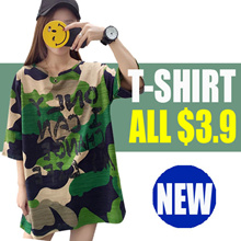 ▶▶ PROMO $3.9 ▶▶ NEW Korean Casual Tops /Loose fit T-shirts/Basic Design /Comfortable Blouse