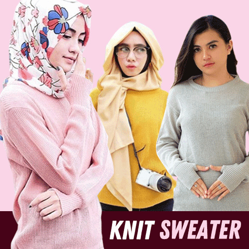 Round Hand Secker Sweater Rajut ALL Size Fit L Deals for only Rp25.000 instead of Rp32.051