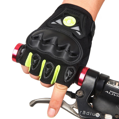 Motorcycle Mountain Bike Half-Finger Tactical Gloves For Bicycles Cycling  Biking Riding Sports