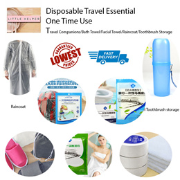 ✈️ One Time Use/Disposable ✈️ Travel Companions/Bath Towel/Facial Towel/Toothbrushstorage/BackPack