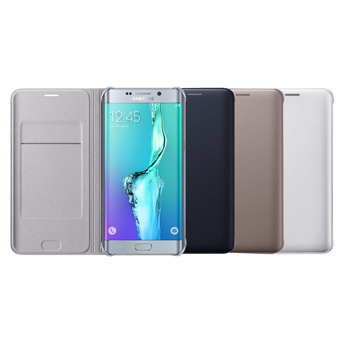e125e8a71c fit to viewer. prev next. Official Genuine Samsung Galaxy S6 edge+ WALLET  FLIP COVER ...