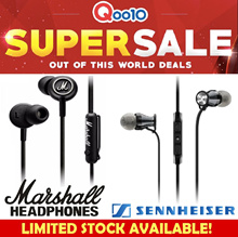 SENNHEISER CX300-II/ CX400-II/ HD202 In-Ear Headphone best for Music |Marshall/ Razer/ VJJB/ SONY |