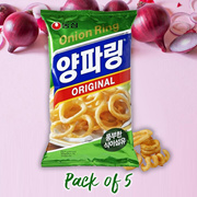 Onion Rings Snack 84g(pack of 5)