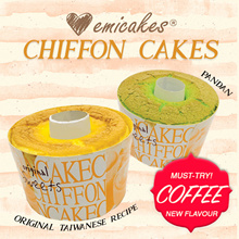 [Emicakes] BACK BY POPULAR DEMAND! Light and Fluffy Chiffon Cakes! $5.90 each | NEW FLAVOUR!