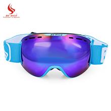 8e3fede8c19 BENICE Ski Goggles Double Layers Unisex Spherical Anti-Fog Lens Snowboarding  Skiing Goggles Climbing