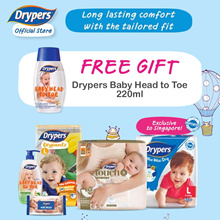 [Official Store] Drypers Wee Wee Dry / Drypantz / Touch / Diapers/ Tape/ Pants / Baby /