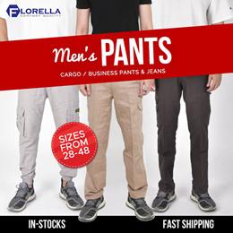 Mens Cargo Pants (Florella/Tuned/York/Chamipon) / Prolando Business Pants / Working Jeans